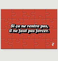Créneau puzzle 20 pieces Piece & Love