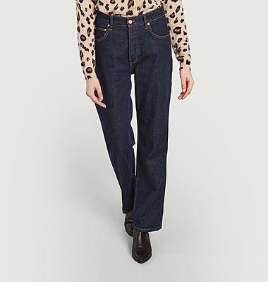 Pippa straight raw jeans