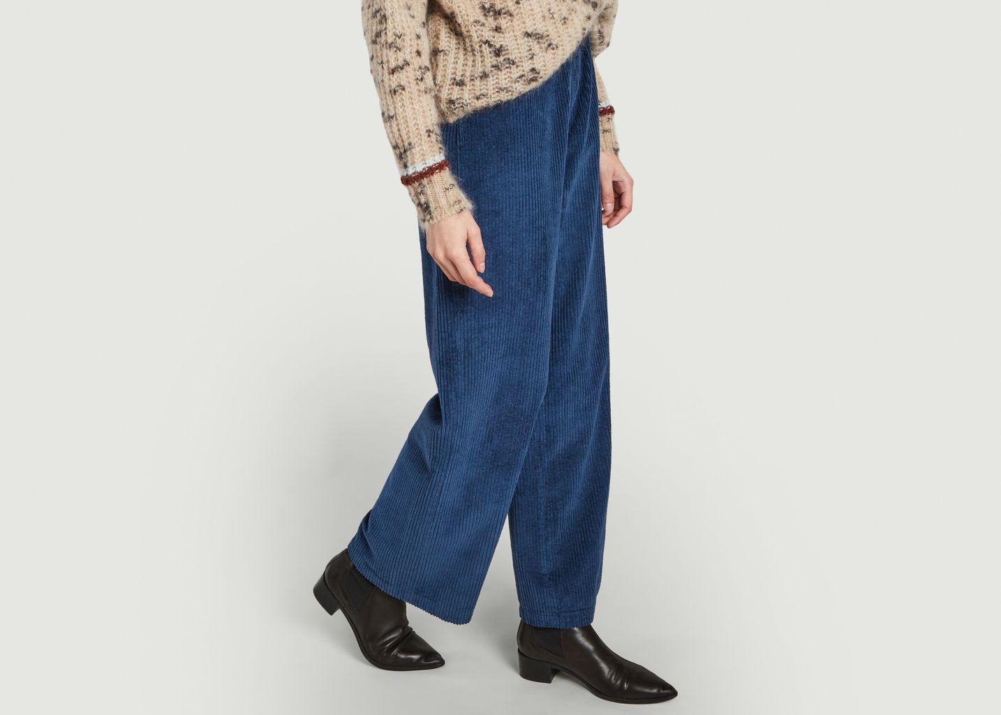 Pantalon ample en velours côtelé Felicity - Reiko