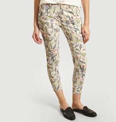 Pantalon Imprimé Fleuri 7/8e Sandy