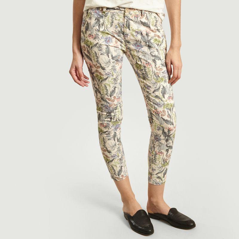 Pantalon Imprimé Fleuri 7/8e Sandy  - Reiko