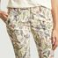 matière Pantalon Imprimé Fleuri 7/8e Sandy  - Reiko