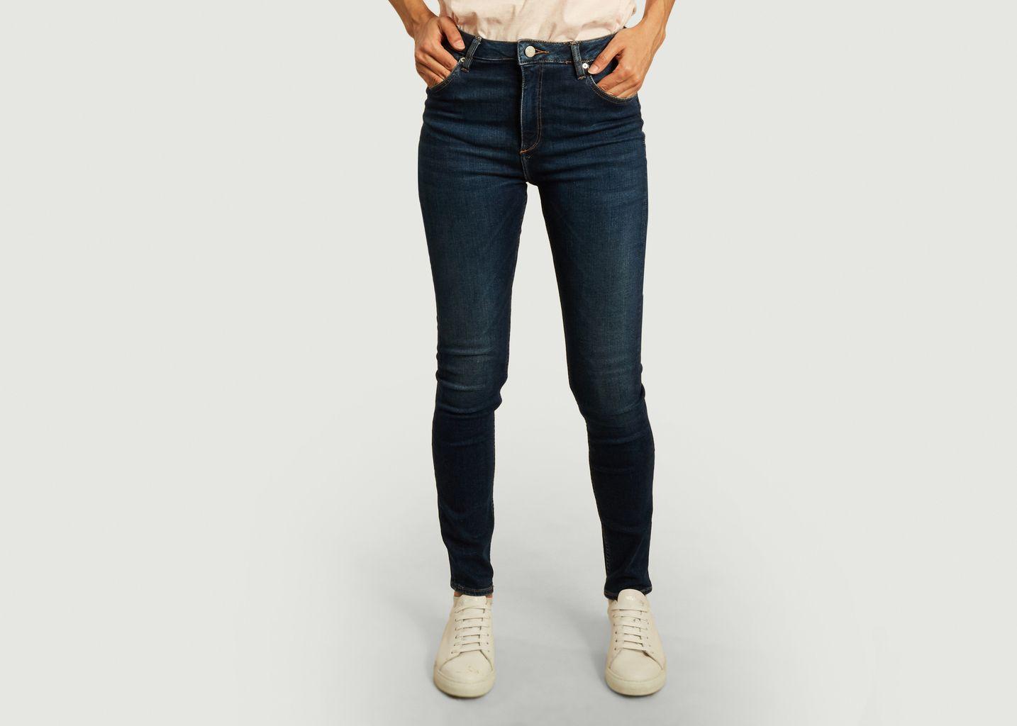 Jean brut skinny taille haute Arnel - Reiko