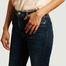 matière Jean brut skinny taille haute Arnel - Reiko