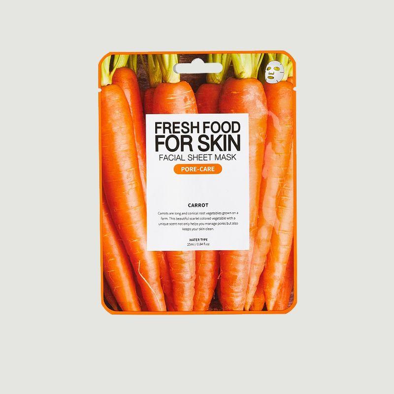 Pack de 5 masques repulpant (cranberry, orange, myrtille, mangue, carotte) - SUPERFOOD FOR SKIN