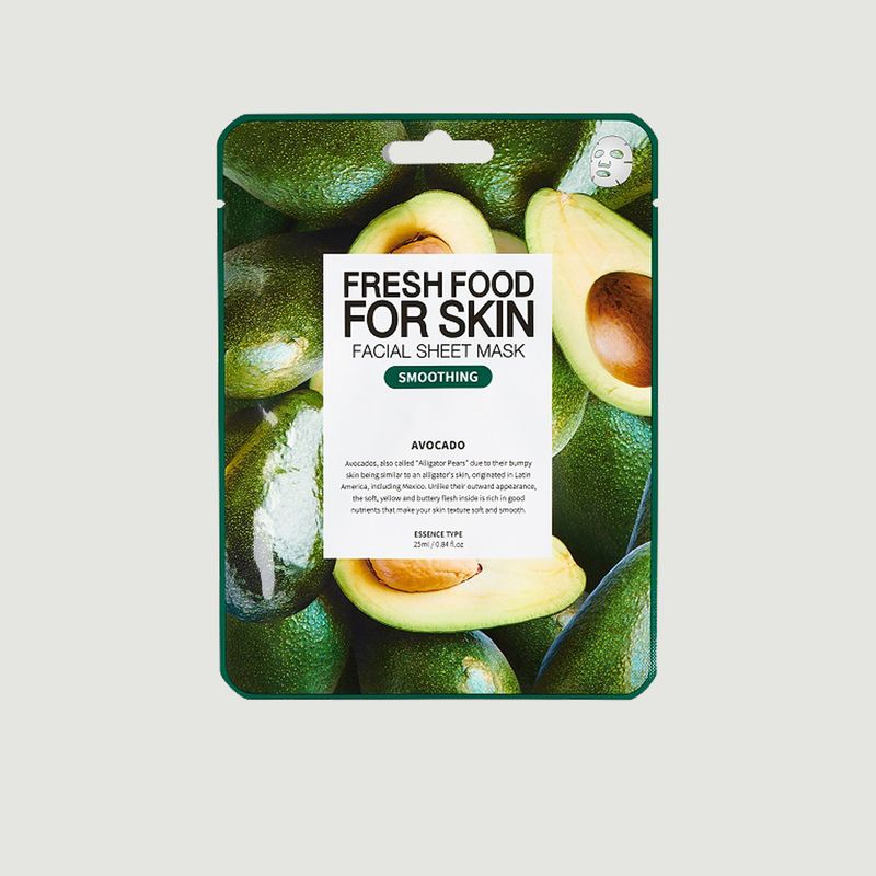 Pack de 5 masques Smoothin - SUPERFOOD FOR SKIN