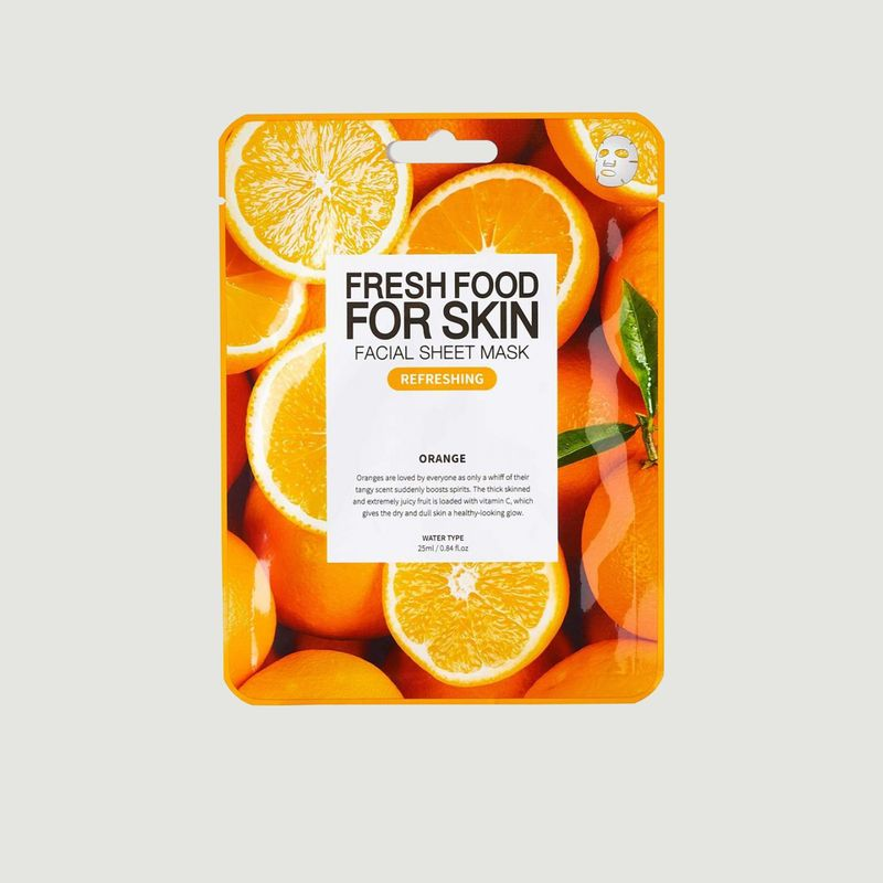 Pack de 5 masques nourissant - SUPERFOOD FOR SKIN