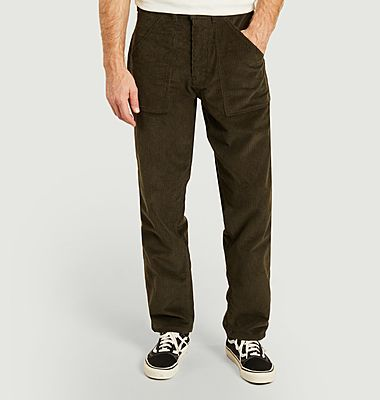 Taper Fatigue corduroy pants