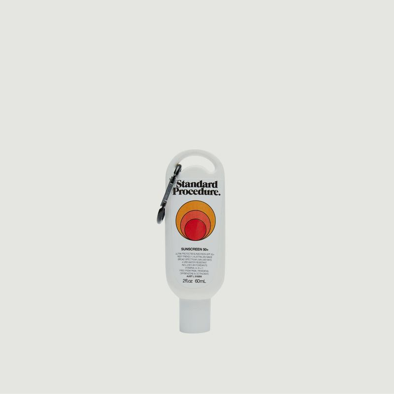 Protection solaire SPF50+ 60ml - Standard Procedure
