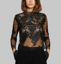 Honiton Lace Blouse