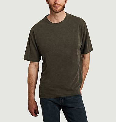 T-shirt triple coton oversize