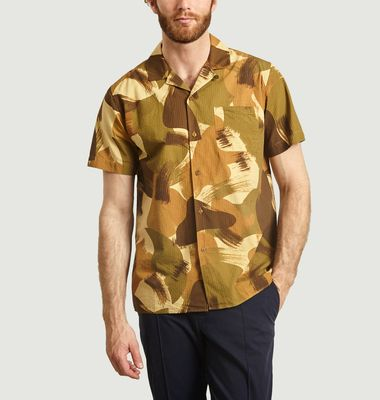 Chemise Manches Courtes Camouflage Malick