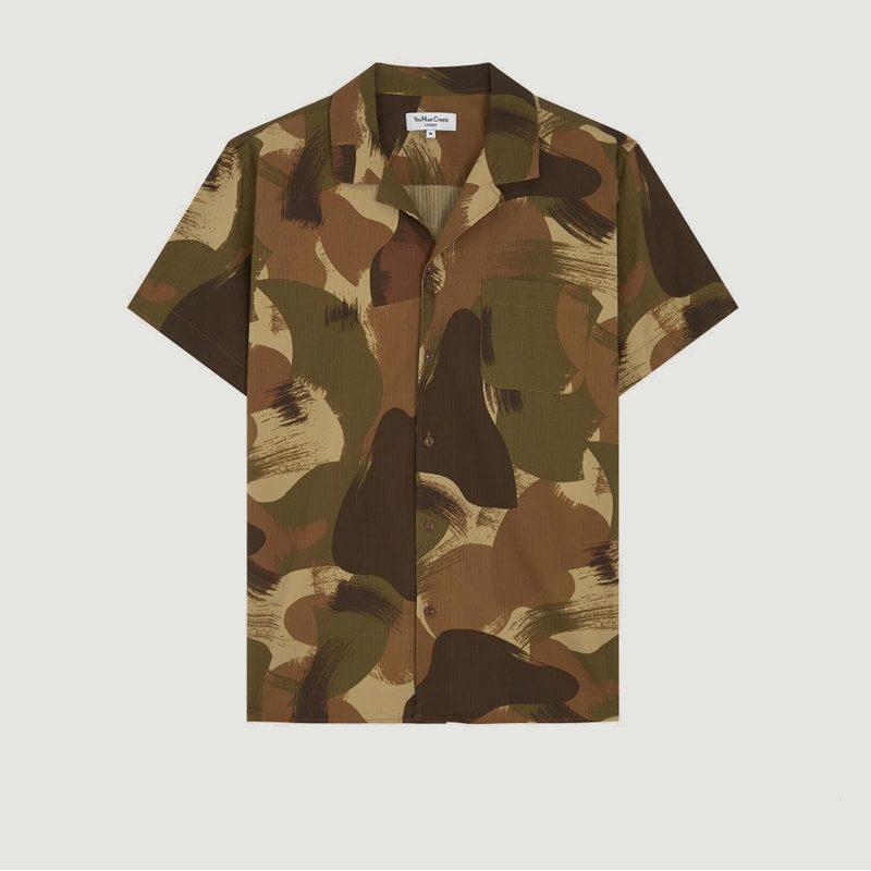 Chemise Manches Courtes Camouflage Malick - YMC