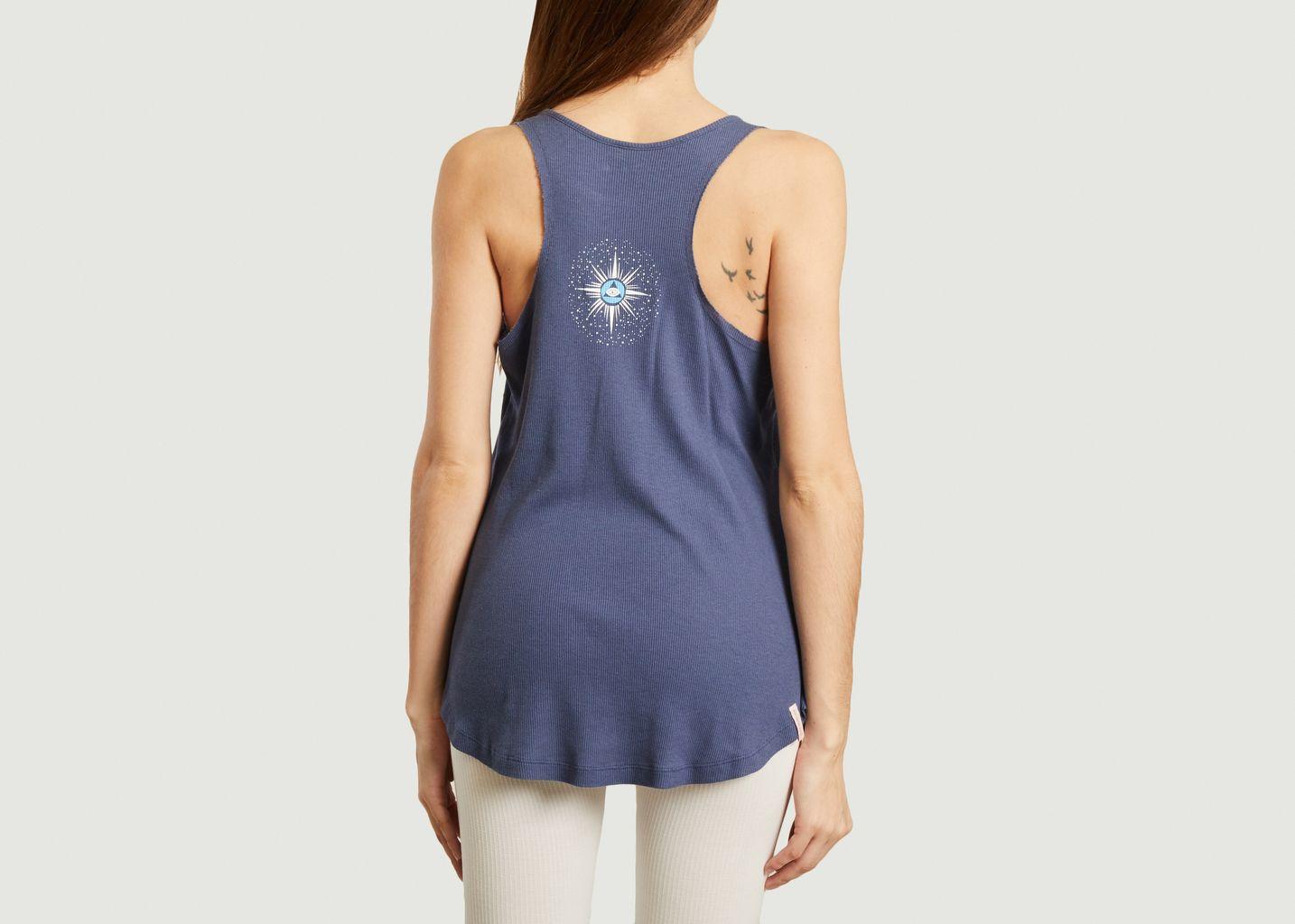 Débardeur de yoga en coton et modal Paripurna - Yoga searcher