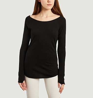 T-shirt manches longues de yoga Karani