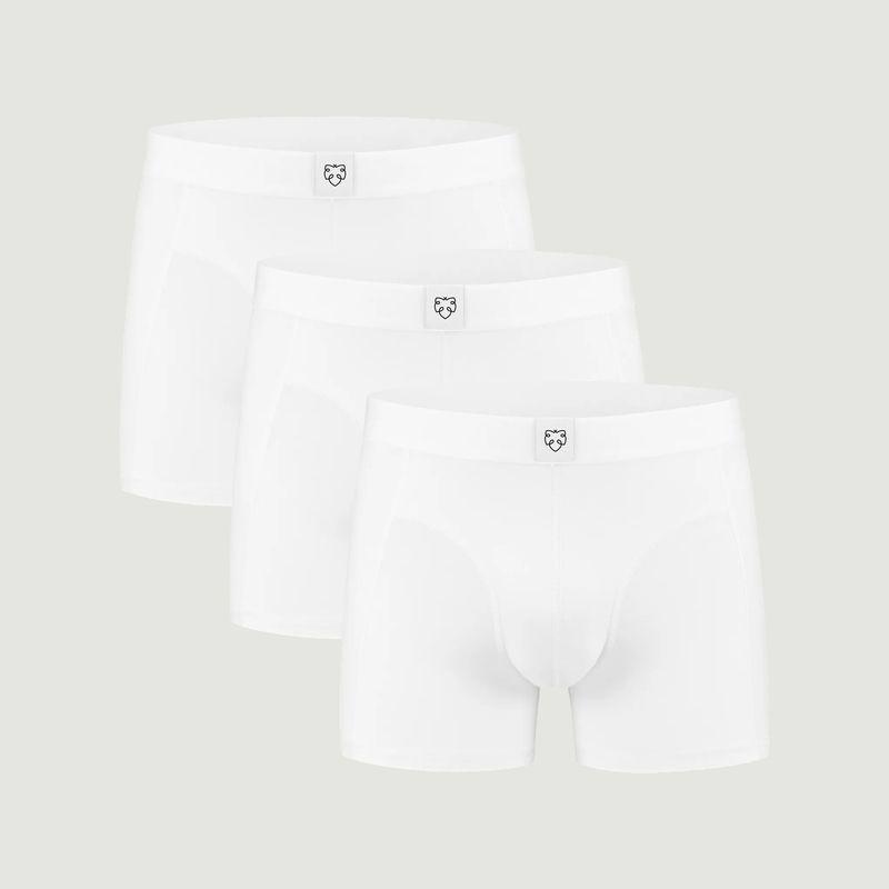 Pack de 3 boxers identiques Okke - A-dam