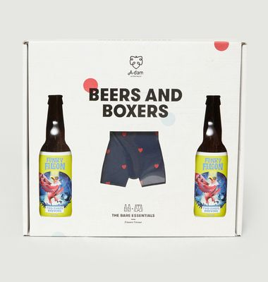 Beers and Boxers gift box