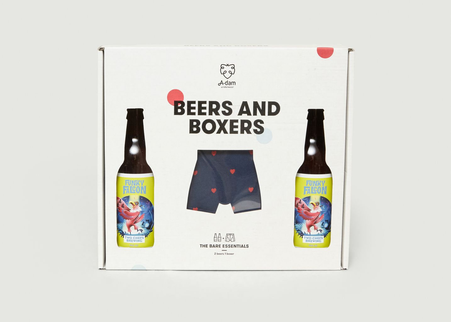 Coffret cadeau Beers and Boxers - A-dam