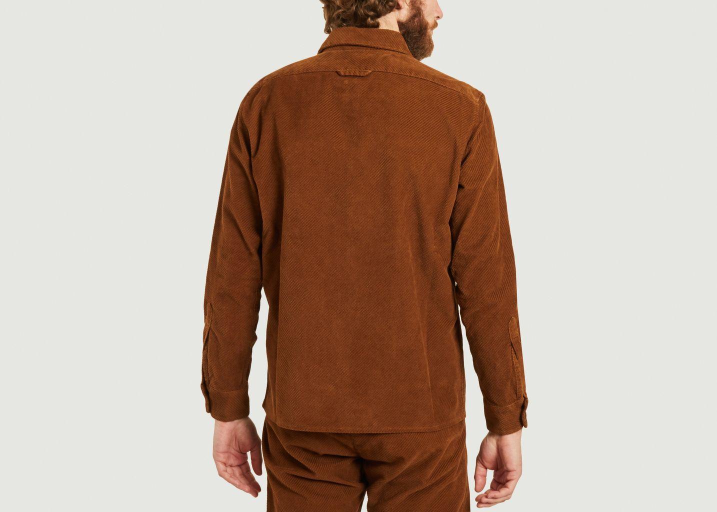 Chemise Cali en velours côtelé  - A.B.C.L. Garments