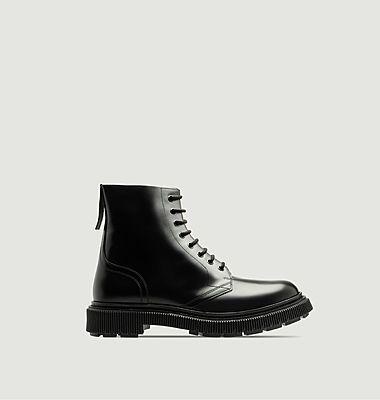 Boots en cuir à lacets Type 165