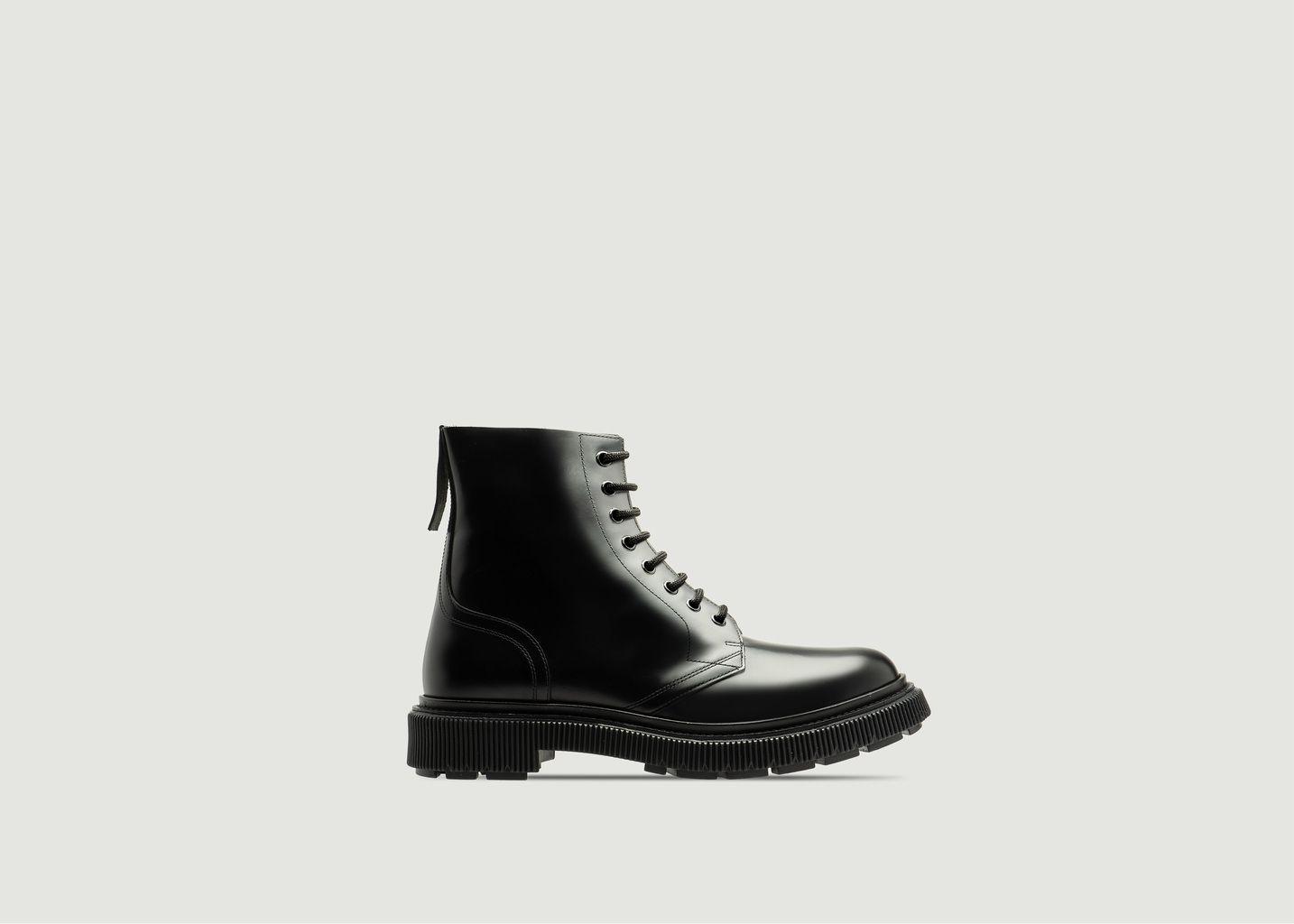 Boots en cuir à lacets Type 165 - Adieu