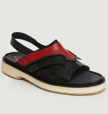 Sandales En Cuir Type 126
