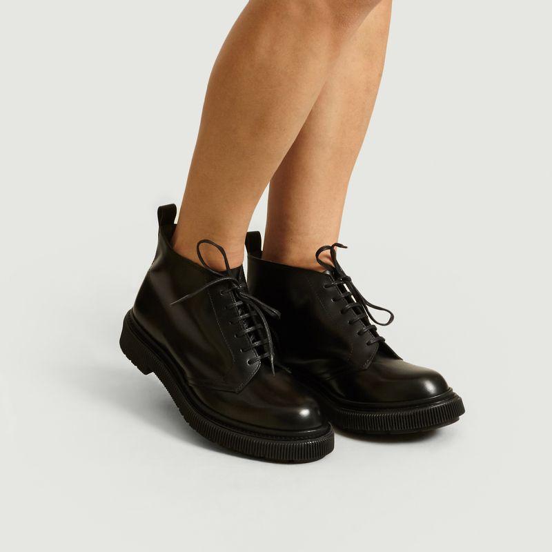 Boots En Cuir Type 121 - Adieu