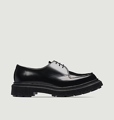 Derbies en cuir Type 124