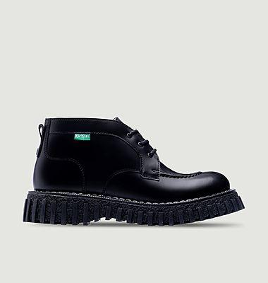Boots en cuir Aktyon Adieu x Kickers