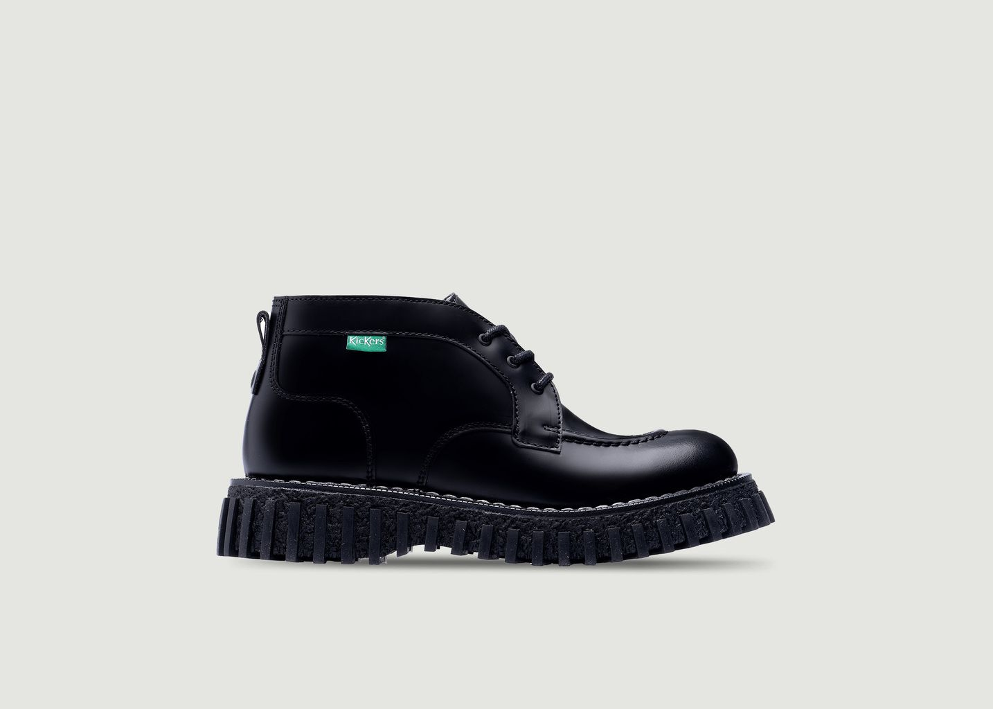Boots en cuir Aktyon Adieu x Kickers - Adieu