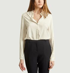 Chemise droite Olympe