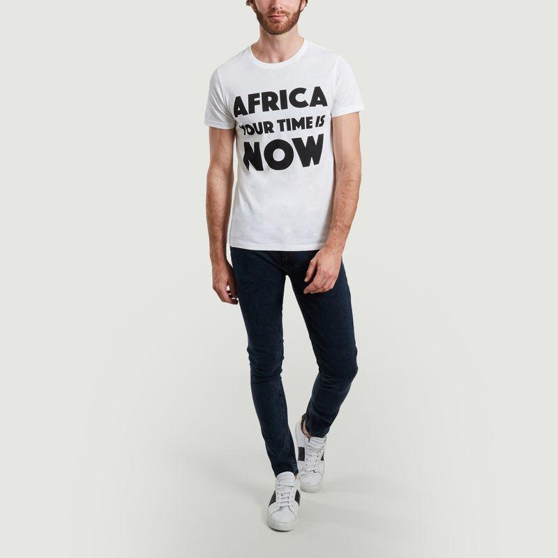 T-shirt à lettrage imprimé AYTIN - Africa your time is now