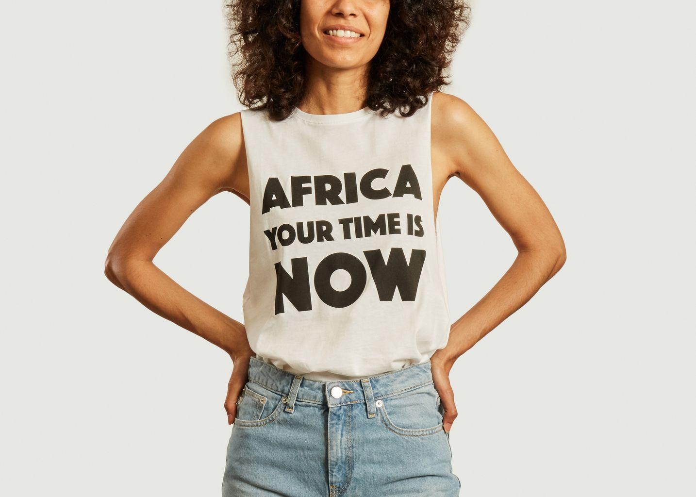 Débardeur imprimé AYTIN - Africa your time is now