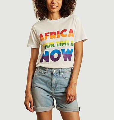 T-shirt à lettrage imprimé AYTIN Pride