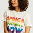 matière T-shirt à lettrage imprimé AYTIN Pride - Africa your time is now