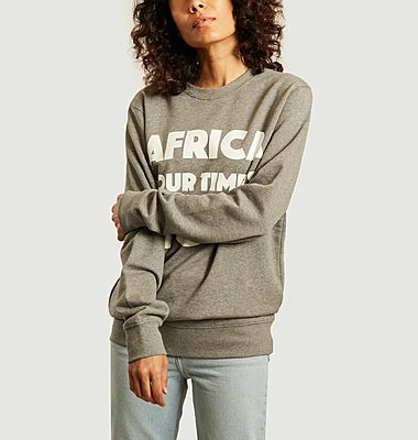 Sweatshirt à lettrage imprimé AYTIN