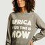 matière Sweatshirt à lettrage imprimé AYTIN - Africa your time is now