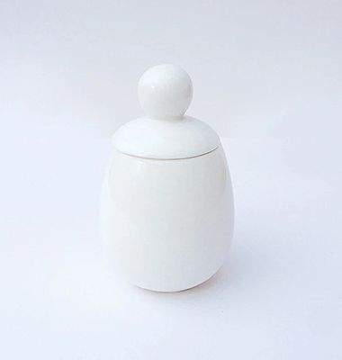 Coquetier Malin en porcelaine