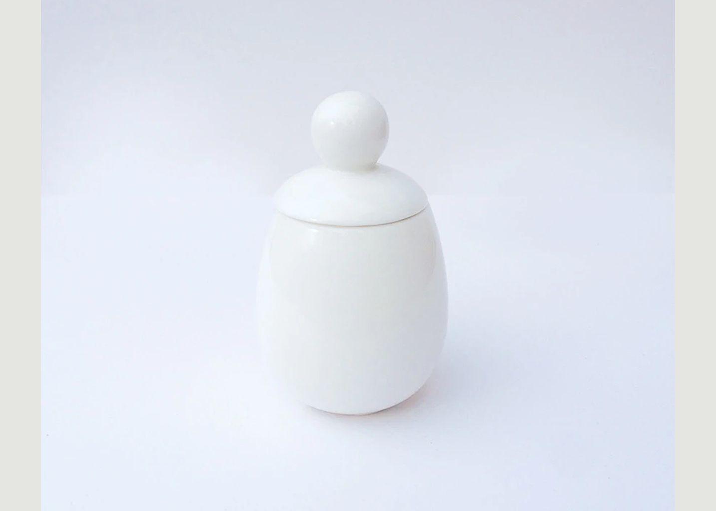 Coquetier Malin en porcelaine - Äggcøddler