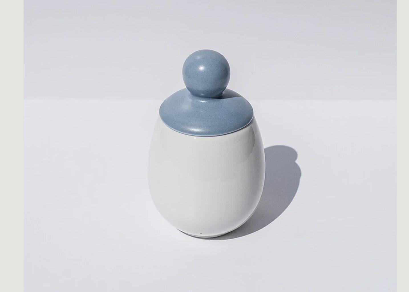 Coquetier Sten en porcelaine - Äggcøddler