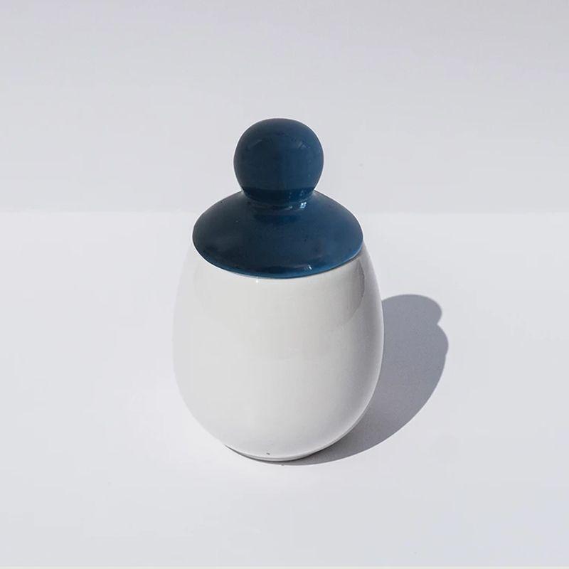 Coquetier Emma en porcelaine - Äggcøddler