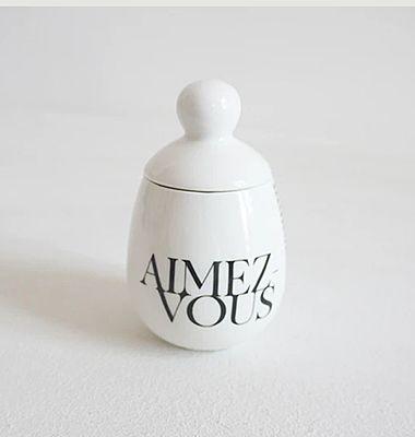 Coquetier Oeuf en porcelaine