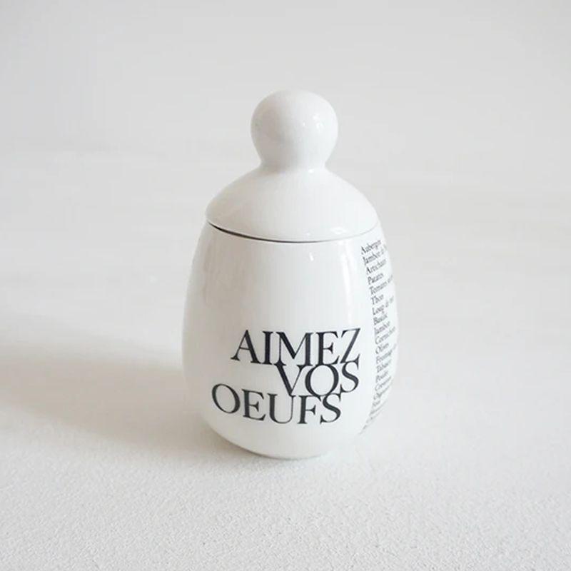 Coquetier Oeuf en porcelaine - Äggcøddler