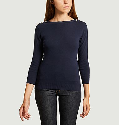 Badiane cotton sweater