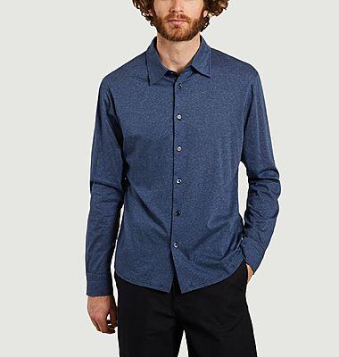 Chemise en jersey à micro rayures John
