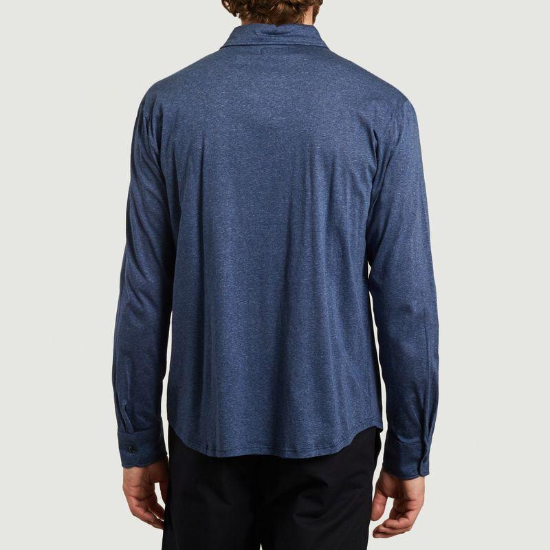 Chemise en jersey à micro rayures John - agnès b.