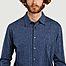 matière Chemise en jersey à micro rayures John - agnès b.