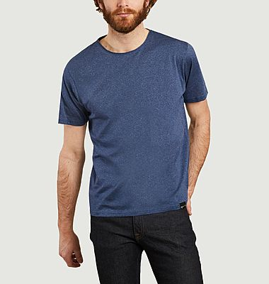 T-shirt en coton micro rayures