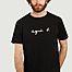 matière T-shirt logotypé en coton - agnès b.