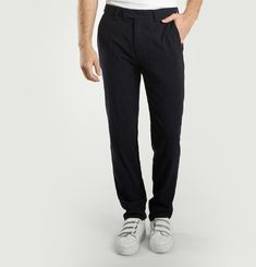 Jamming Pinstripe Trousers